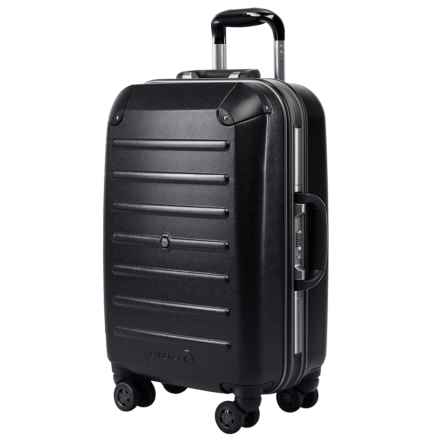 "LIFEPACK 21"" Closet Carry-On Suitcase - Spinner in Black - Closeouts"