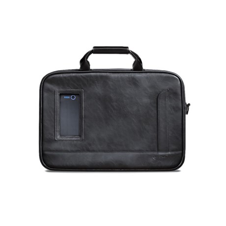 LIFEPACK Daily Hustle Shoulder Bag in Black