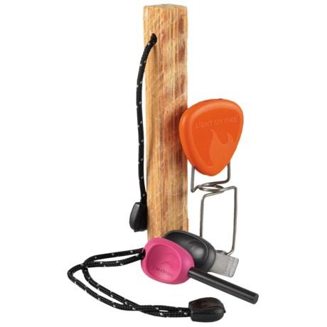 Light My Fire Fire-Making Kit in Fuschia/Orange
