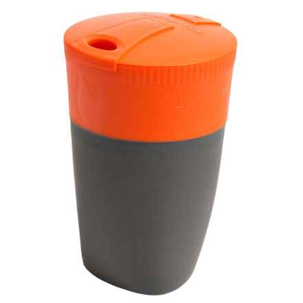 Light My Fire Pack-Up-Cup - 8.8 fl.oz. in Orange - Closeouts