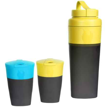 Light My Fire Pack-Up Drink Kit in Cyan/Lime - Closeouts