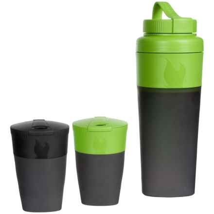 Light My Fire Pack-Up Drink Kit in Green/Black - Closeouts