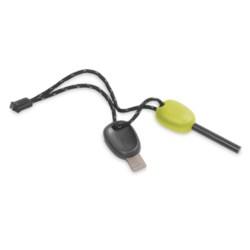 Light My Fire Scout Firesteel 2.0 Fire Starter - Glow in the Dark in Lime