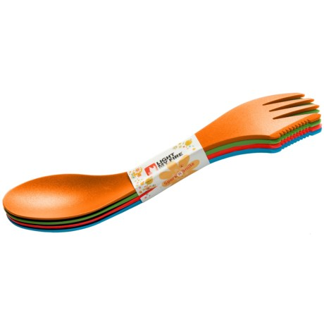 Light My Fire Spork Set - 4-Pack in Asst