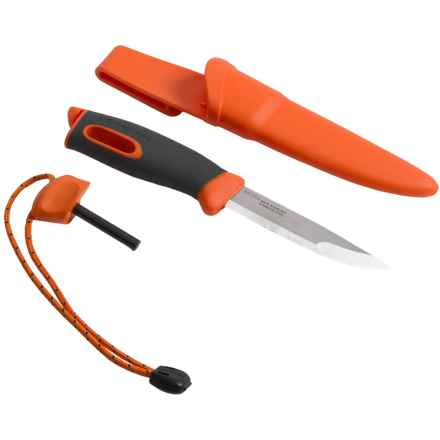 Light My Fire Swedish Fireknife in Orange - Closeouts