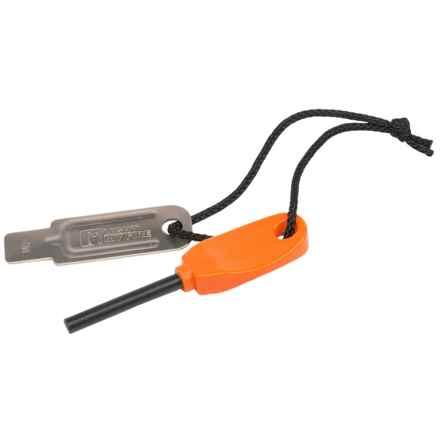 Light My Fire Swedish FireSteel Mini Fire Starter in Orange - Closeouts