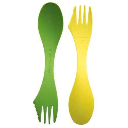 Light My Fire Tritan® Spork - 2-Pack, BPA-Free in Lime Green - Closeouts