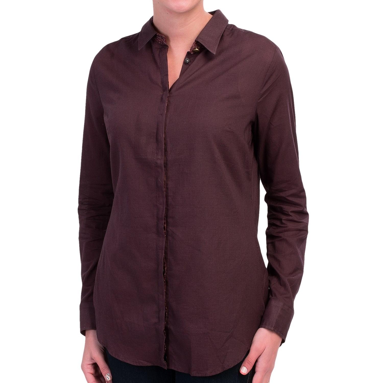 Lightweight Cotton Shirt For Women Save 84