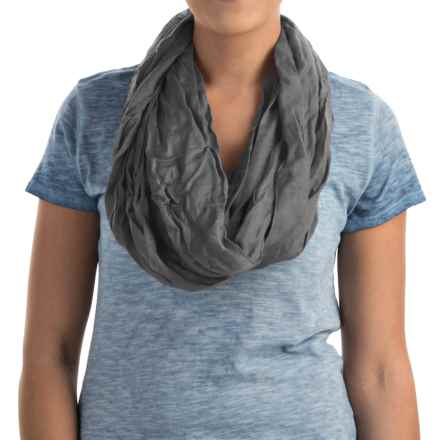 Lightweight Infinity Scarf (For Women) in Grey - 2nds