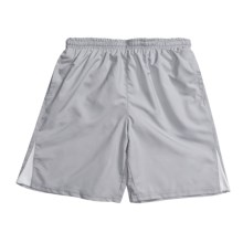 Lightweight Swim Shorts - Built-In Brief (For Men) in Grey - 2nds