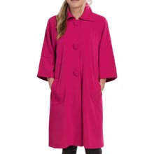 Lightweight Two-Way Stretch Jacket - 3/4 Sleeve (For Women) in Currant - 2nds