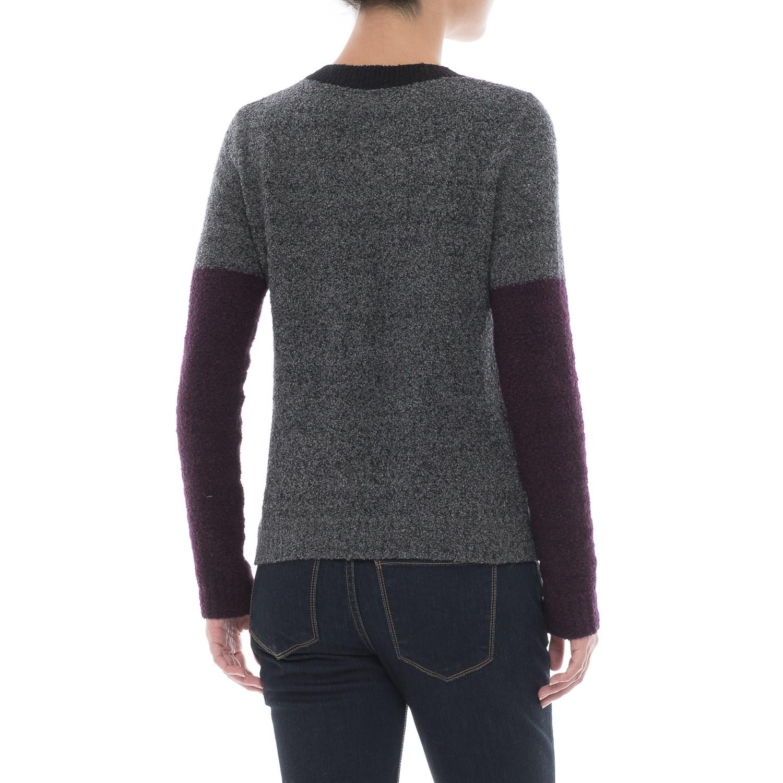 Lilla p color block sweater dress