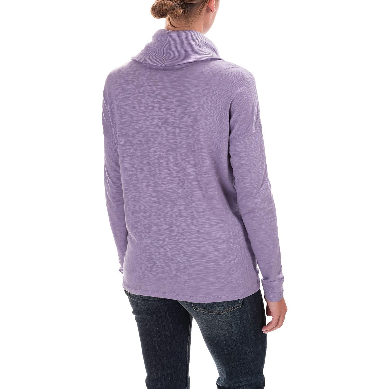 Lilla P Cowl-Neck Shirt (For Women)