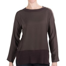 Lilla P Dolman Shirt - Long Sleeve (For Women) in Iron - Closeouts