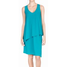 Lilla P Double Layer Tank Dress - Sleeveless (For Women) in Mosaic - Overstock