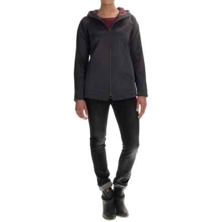 Lilla P Double-Zip Hooded Jacket (For Women) in Storm - Overstock