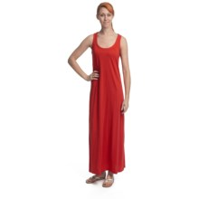 Lilla P Flame Maxi Dress - Pima Cotton-Modal, Racerback, Sleeveless (For Women) in Spice - Closeouts