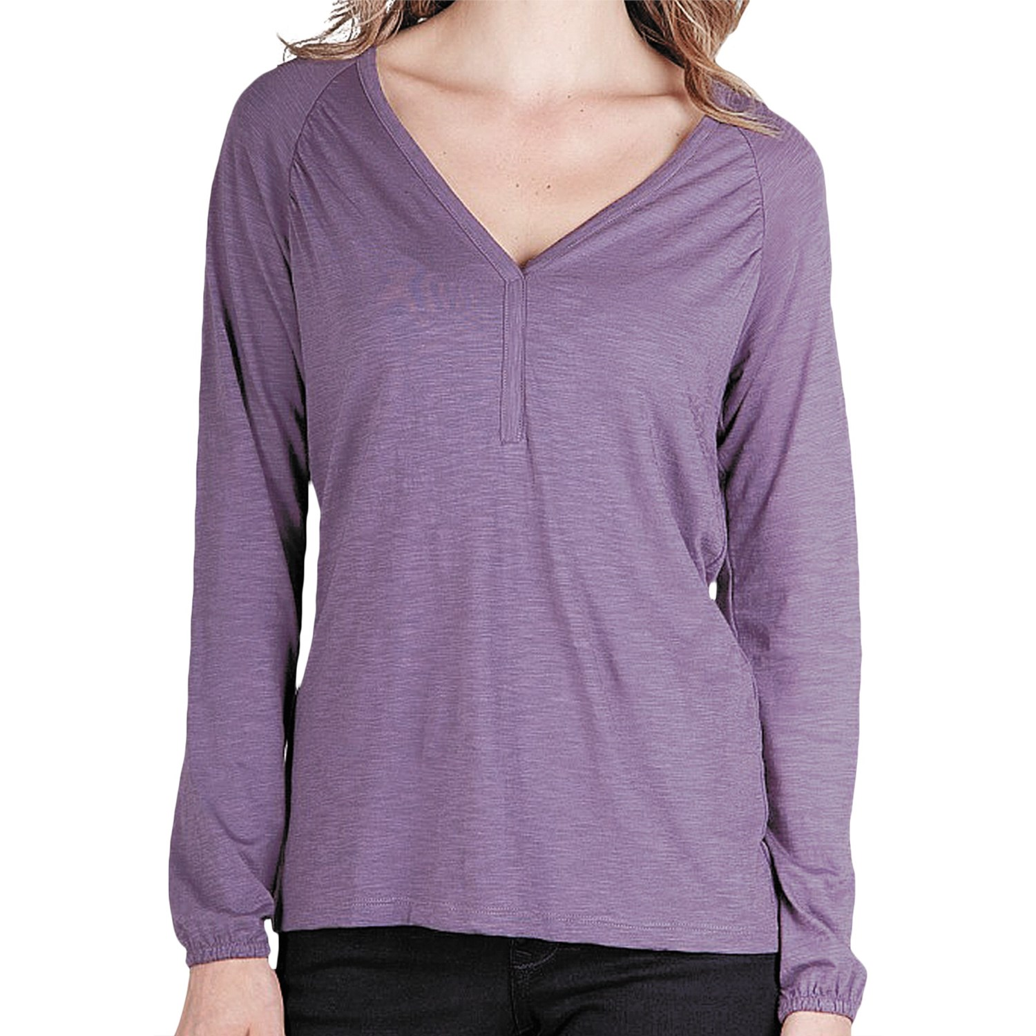 lilla p flame shirt pima cotton modal long sleeve for