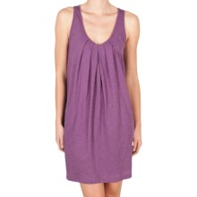 Lilla P Flame Tank Dress - Pima Cotton Slub, Racerback (For Women) in Jam - Closeouts