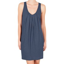 Lilla P Flame Tank Dress - Pima Cotton Slub, Racerback (For Women) in Shadow - Closeouts