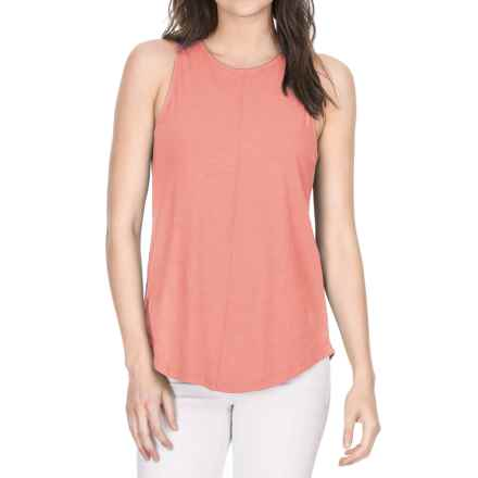 Lilla P Flame Voile Racerback Tank Top (For Women) in Coral Reef - Closeouts