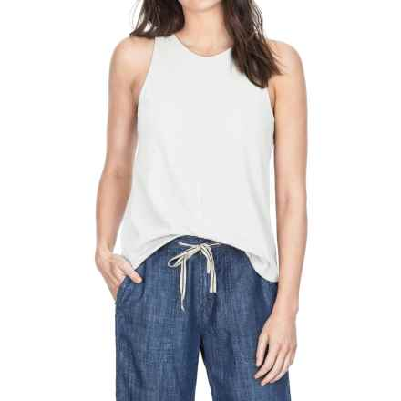 Lilla P Flame Voile Racerback Tank Top (For Women) in White - Closeouts