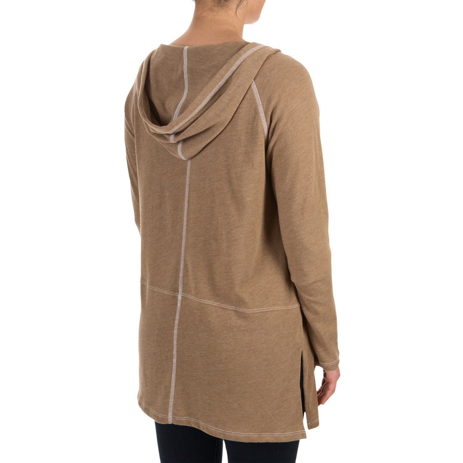 Womans Hooded Cardigan Sweater 76
