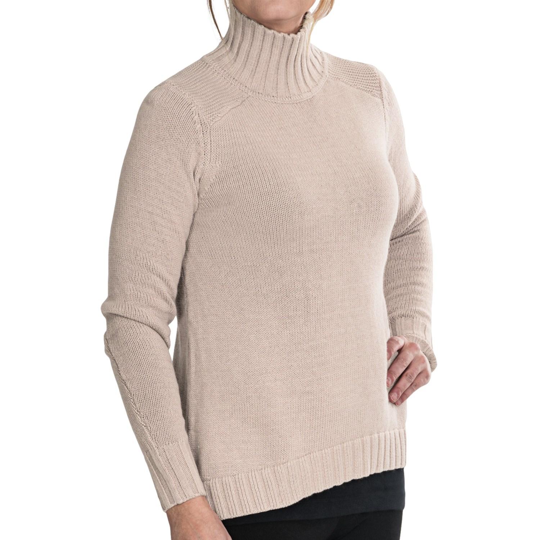 Mock Turtleneck Sweater For Women Full Zip Sweater