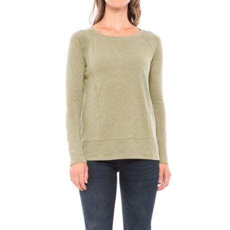 Lilla P Raglan Shirt - Long Sleeve (For Women) in Kelp