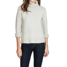 Lilla P Roll Neck Sweater (For Women) in Soft Heather - Closeouts