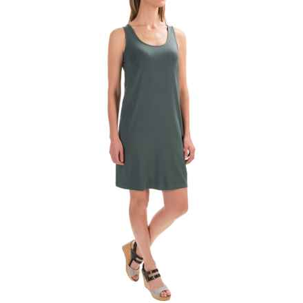Lilla P Short Tank Dress - Sleeveless (For Women) in Mineral - Closeouts