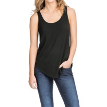 Lilla P Slinky Jersey Shell Shirt - Sleeveless (For Women) in Black - Closeouts