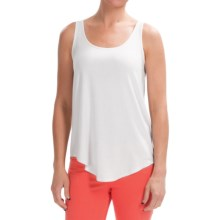 Lilla P Slinky Jersey Shell Shirt - Sleeveless (For Women) in Mist - Closeouts