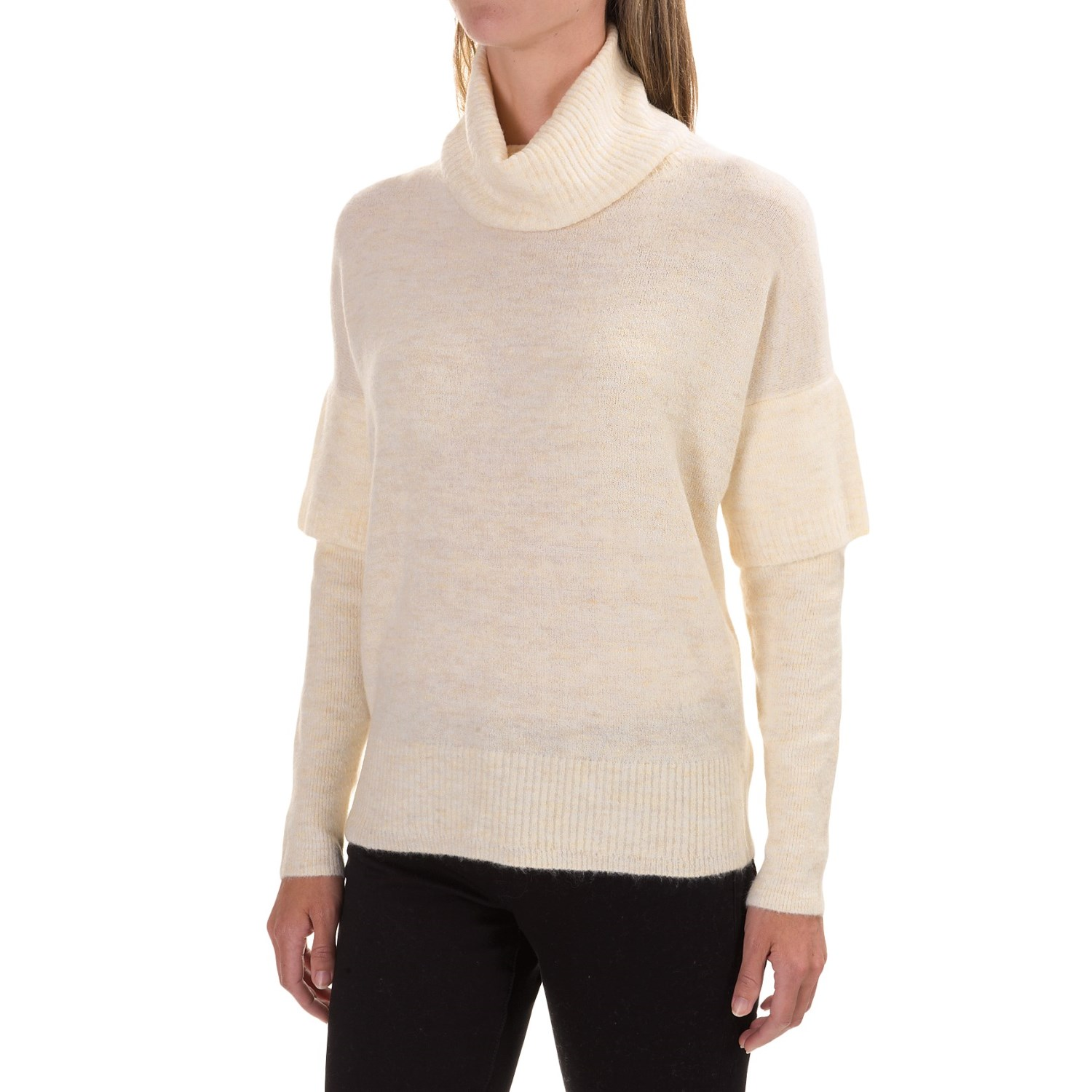 Lilla P Soft and Cozy Turtleneck Sweater (For Women)