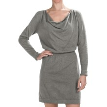 Lilla P Sweater Dress - Long Sleeve (For Women) in Nickel - Closeouts