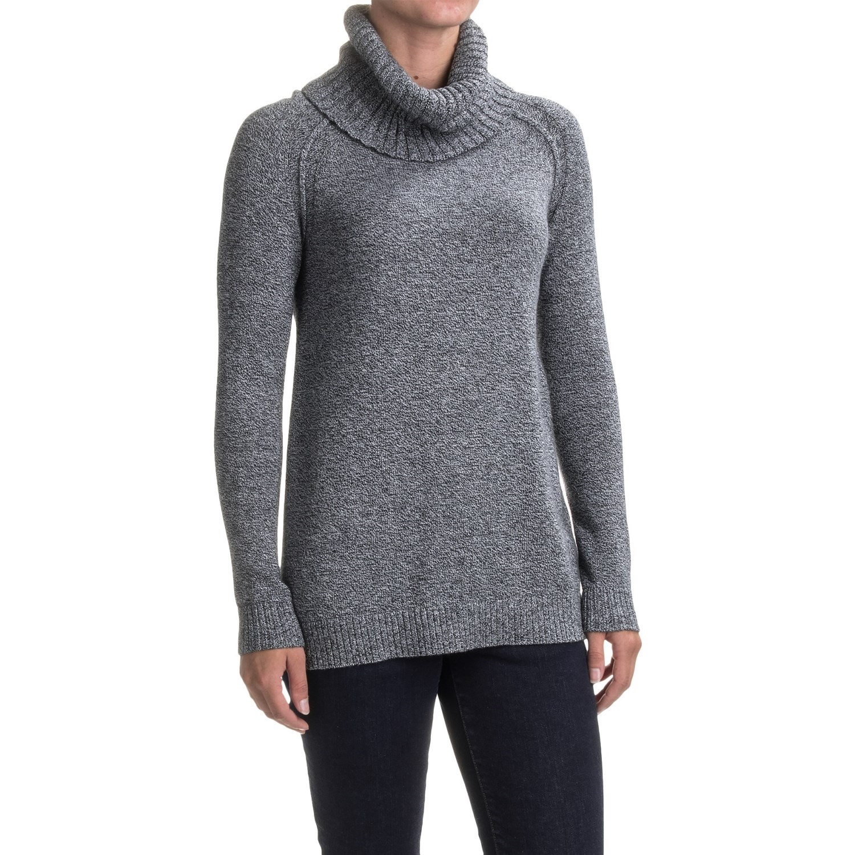 Lilla P Tunic Turtleneck Sweater (For Women)