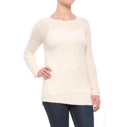 Lilla P Twisted-Seam Sweater (For Women) in Birch - Closeouts