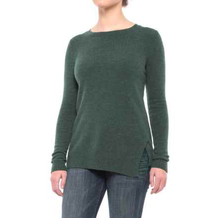 Lilla P Twisted-Seam Sweater (For Women) in Juniper - Closeouts