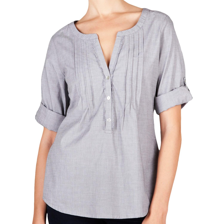 Womens Woven Cotton Blouses - Blouse Styles