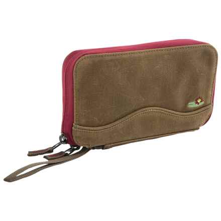 Lilypond Cypress Wallet - Wrist Strap (For Women) in Earth/Berry - Closeouts