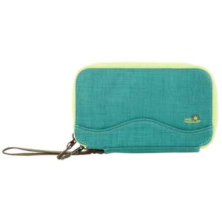 Lilypond Cypress Wallet - Wrist Strap (For Women) in Glacier - Closeouts