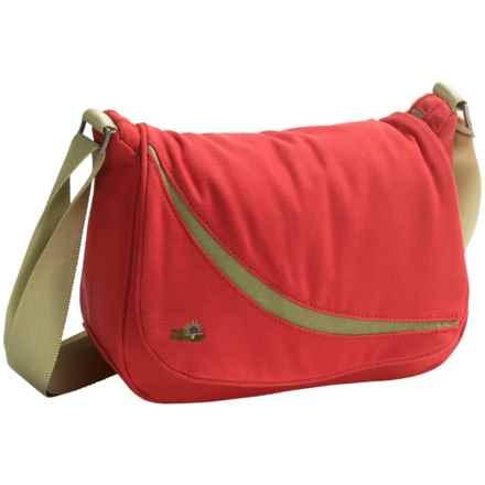 Lilypond Desert Willow Shoulder Bag (For Women) in Geranium - Closeouts
