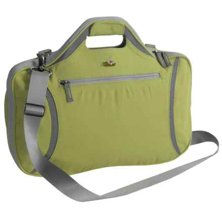 Lilypond Firehorn Laptop Bag in Cactus - Closeouts