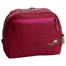 Lilypond Hummingbird Cosmetic Bag (For Women) in Alpine Berry - Closeouts