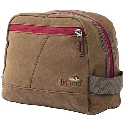 Lilypond Hummingbird Cosmetic Bag (For Women) in Earth/Berry - Closeouts