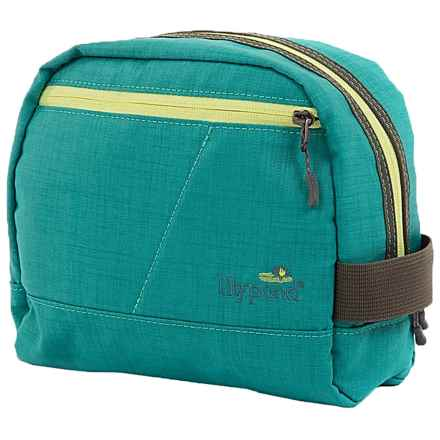 Lilypond Hummingbird Cosmetic Bag (For Women) in Glacier - Closeouts