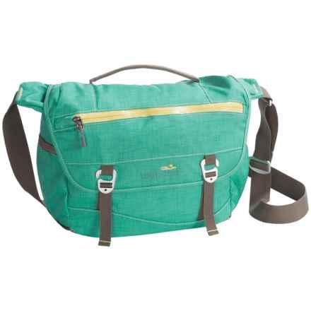 Lilypond Juniper Messenger Bag in Glacier - Closeouts