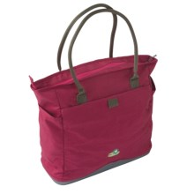 Lilypond Magnolia Handbag - Recycled Materials (For Women) in Alpine Berry - Closeouts