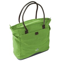 Lilypond Magnolia Handbag - Recycled Materials (For Women) in Meadow Grass - Closeouts