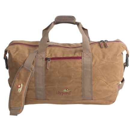 Lilypond Mountaintop Duffel Bag in Earth/Berry - Closeouts